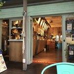 カフェ&ビアテラス カリフォルニアカフェ - 注文カウンターの方♪