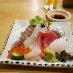 梅ふく - 料理写真:刺身盛り合わせ