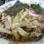 青島食堂 - メンマの姿