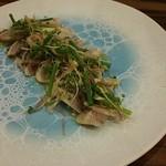 レストラン デルマール - 長崎産アジの炙りカルパッチョ 1400円