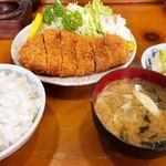 おぎ - 料理写真:ロースとんかつ定食
