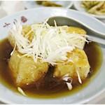 十八番 - アンカケ豆腐 350円