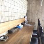 スープカレー&ステーキ 傾奇 - カウンター席