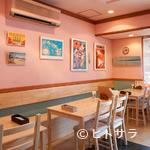 ホヌカフェ - ファミリーや友人同士、ゆっくり食事ができるテーブル席