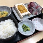 88267486 - 『刺身B定食』1200円