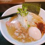 麺や勝治 - ♦︎青唐辛痛麺 850円
