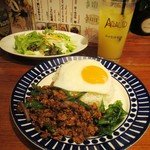 アガリコ マサール - ガパオ炒めご飯&Aセット