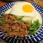 アガリコ マサール - ガパオ炒めご飯