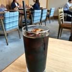ル ガラージュ - 追加でアイスコーヒー。「セットドリンク」(200円)。