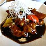 中国料理 登竜門 - 黒酢豚:530円