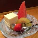 魚勝 - 白桃のムース
