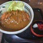 三国一 - 「カツカレーうどん」1,100円