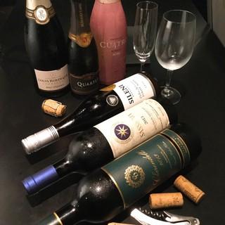焼肉のためのワインリストをご用意。多くの方の喜びのために…。