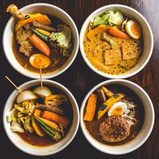 お好みで選べる4種のスープ