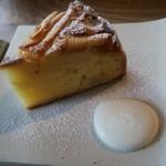 88275714 - リンゴとジャガイモのケーキ(接写)