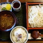 麺乃匠 いづも庵 - 鴨酔定食 1,130円