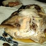 鮮魚・創作ダイニング ほいど家 - 鯛の尾頭を煮付けで