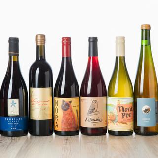 ソムリエ厳選の道産ワインが勢揃い♪