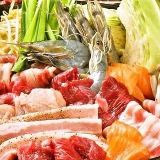 【夏季限定!】29種食べ放題!飲み放題付き!!BBQコース!
