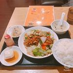 中華居酒屋 三三丸市場 - 回鍋肉定食