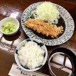 とんかつ 椿 - ロース定食