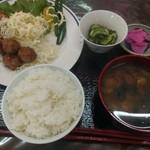 松野や - 料理写真:2018.06日替わり定食(600円)