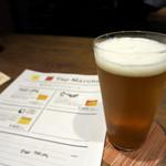 肉菜処和心 - 生ビール