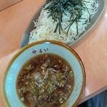 88284939 - ざるつけ麺(大盛)700円