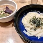 手延べうどん 水山 - 柚子胡椒の肉つけうどん860円