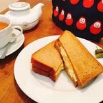 ほそつじいへえ TEA HOUSE - タマゴサラダサンド