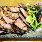 イタリア食堂nono - 料理写真:肉バルの牛グリルステーキ(ビステッカ)