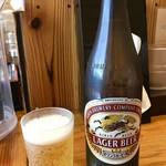 らーめん専門 和海 - 瓶ビール