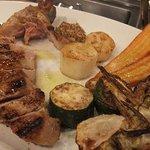 神楽坂 イルカンポ  - 豚と野菜のグリル