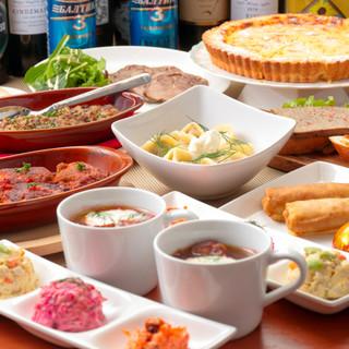 海外食文化に親子で親しめるロシアンバル