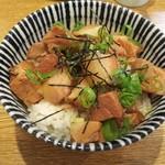 中華そば桐麺 - チャーシュー丼