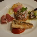 ミナミ - 料理写真:前菜 5種盛り合わせ