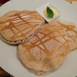 88295319 - メープルとバターのパンケーキ(18-06)