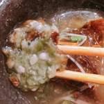 うまい野菜と魚がいっぱい 和んば - 中には刻んだ『おくら』が たっぷりぃ♪