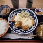 四ツ谷 ふく鶴 - 大山どり チキン南蛮¥950-