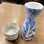 ときわ食堂 - 清酒(小)