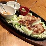 ねお 豊田 うりずん あぐー豚と旬菜うまいもん屋 - あぐー豚のステーキ
