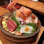 ねお 豊田 うりずん あぐー豚と旬菜うまいもん屋 - 鮮魚の盛り合わせ