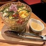ねお 豊田 うりずん あぐー豚と旬菜うまいもん屋 - 海ぶどうのコブサラダ