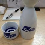 春駒 支店 - 珍しく日本酒を