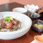 稲月 - 一本釣りうるめいわしの漬け丼