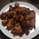 88306309 - 鶏肉の唐辛子揚炒め