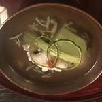 味吉兆 ぶんぶ庵 - お椀