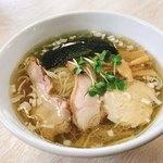 大木 - 鶏清湯・塩ラーメン