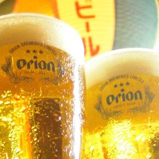 薬院の地で沖縄気分♪『オリオン☆生ビール』はじめました!