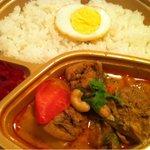 出目金 - マレーシア風カレー (チキンとジャガイモ)